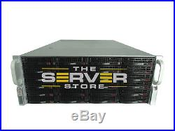 Supermicro 4U BAREBONE Server BPN-SAS2-846EL1 24x Trays 2x P/S With Rails