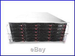 Supermicro 4U X9DRI-F Dual 6 Core Xeon 64GB Ram 24 x HDD Storage Server With Rails