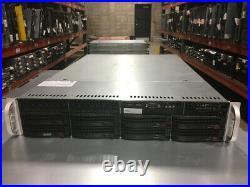 Supermicro 6027r-trf 2u 8x3.5 E5 V1/v2 Rackmount Server