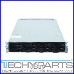 Supermicro 6028U-E1CNR4T+ 2U 12-Bay (4x NVMe) 3.5 Rackmount Server with X10DRU-i+