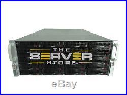 Supermicro 846E16-R1200B BAREBONE 4U Server BPN-SAS2-846EL1 24x TRAYS W. Rails