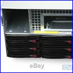 Supermicro 847-12 Storage Server Chassis 36 SAS drive bays With caddy SAS2-846EL2