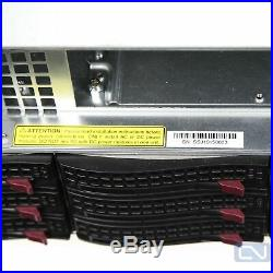 Supermicro 847-12 Storage Server Chassis 36 SAS drive bays With caddy SAS2-846EL2