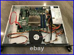 Supermicro CSE-512 server chassis, X9SCL-F+ motherboard, 16GBs of RAM, E3-1270v2