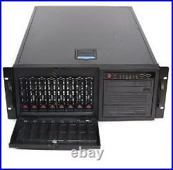Supermicro CSE-743TQ-R760B 8-Bay LFF SAS/SATA Server Chassis 760W Redundant