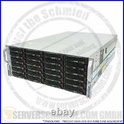 Supermicro JBOD Storage 19 4U 45x HotSwap 3,5 LFF 6G SAS S-ATA 847E16-RJBOD1 2