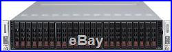 Supermicro Server 24 bay 2 Node UNRAID SAS 6Gbps IT MODE 4x Xeon X5670 128GB