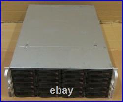 Supermicro SuperChassis CSE-846 24x 3.5 SAS/SATA X9DRi-LN4F+ CTO Storage Server
