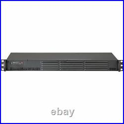 Supermicro Superchassis 504-203b black Rack-mountable Black 1u 1 X Bay