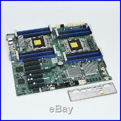Supermicro X9DRH-7F-DE05B Dual Socket XEON LGA2011 EATX Server Motherboard