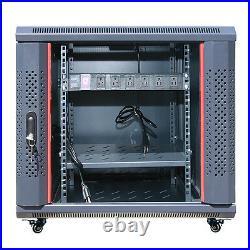 Sysracks 12U 35 Deep Server IT Network Enclosure Rack Cabinet New