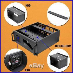 US Seller 4U Rack mount Industrial Server/Computer Case with Fans