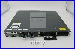 USED Cisco WS-C3750X-48T-L Catalyst 3750-X Series 48 Port Data Switch LAN Base