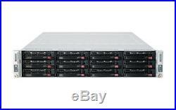 UXS Server 2U Supermicro 2 Node 12 Bay Twin 4x Xeon X5670 Hex Core 96GB (24x4GB)