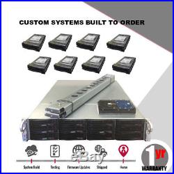 UXS Server 2U Supermicro FREENAS 11 JBOD 12 Bay X9DRI-LN4F+ 2x Xeon E5-2620 18TB