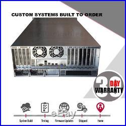 UXS Server 4U 24 Bay X9QRi-F+ 4x LGA 2011 Storage Chassis CSE-848A-R1K62B w Rail