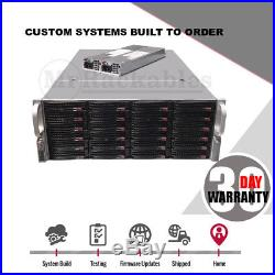 UXS Server 4U Supermicro Storage 24 Bay 6Gbs JBOD FREENAS 2x