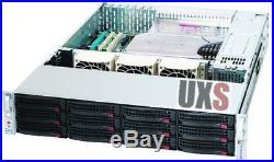 UXS Server FREENAS Supermicro Home Economy 2U 12 bay Xeon Direct Attached DAS