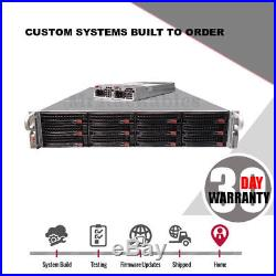 UXS Server Supermicro 2U Case 12 Bay Chassis CSE-826A-R920LPB IPASS Backplane