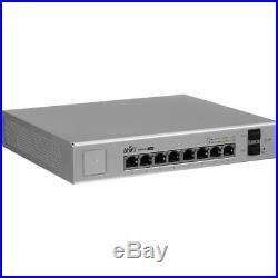 Ubiquiti Networks US-8-150W UniFi Managed PoE+ Gigabit 8 Port Switch w SFP 150 W