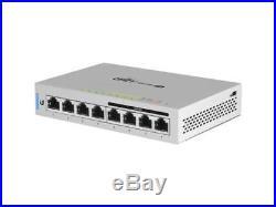 Ubiquiti Networks US-8-60W-US Fully Managed Gigabit Switches with 4-PoE Ports