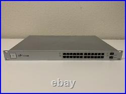 Ubiquiti Networks UniFi (US-24-250w) 24 Port PoE Rack Mountable Ethernet Switch