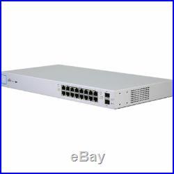 Ubiquiti US-16-150W UniFi Managed PoE+ 16-Port Gigabit Switch with SFP, 150W