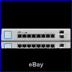 Ubiquiti US-8-150W UniFi Managed PoE+ Gigabit 8 Port Switch with2 SFP Ports