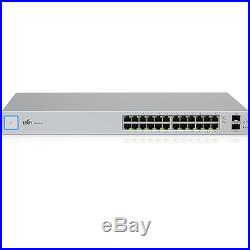 Ubiquiti UniFi Switch, 24 Port Managed Gigabit Switch with SFP, US-24 New