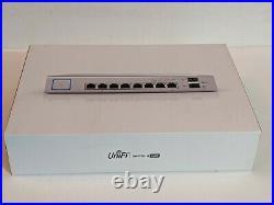 Ubiquiti UniFi Switch 8 (US-8-150W) 8 Port 24/48V 150W PoE+ Ethernet Switch