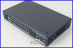 Used Cisco WS-C2960-8TC-S Catalyst 2960 Series 8 Port Switch 1 T/SFP Port