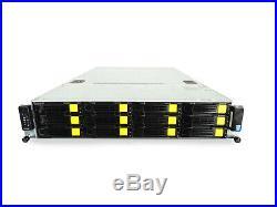 Xeon 12 Core Low Power 2U Server FREENAS ZFS UNRAID 32GB Trays Trays